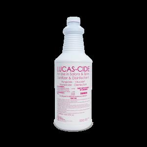 LUCAS-CIDE Concentrate Disinfectant – Quart