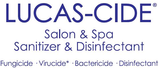 Lucas - Cide Salon & Span Sanitizer & Disinfectant Logo