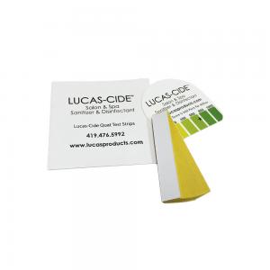LUCAS-CIDE Quat Test Strips